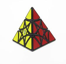 Lanlan Hexagonal Star pyramid Magic Cube Twisty Puzzle  Toys cubo Gift Black