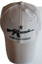 COME AND TAKE IT BASEBALL STYLE HAT cap texas tea party ar15 m4 rifle gun A149gr