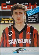 Programm 1992/93 SG Eintracht Frankfurt - Karlsruher SC
