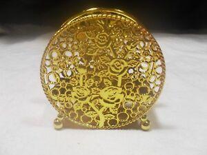 Plastic Metallic Gold ~ Napkin Holder W/ Legs ~ (#4)