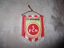 """1.FC Nürnberg Original kleiner gedruckter 70iger Jahre Wimpel """"1.FCN Wappen"""" Neu"""