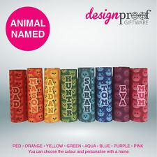 4 x Personalised Animal Icy-Pole Holder Coolers - zooper dooper ice pop kids