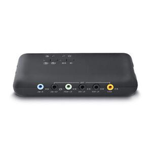 Adwits 7.1 Kanal Externe USB Soundkarte mit SPDIF Digital Audio Desktop & Laptop