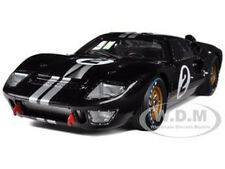 1966 FORD GT-40 MK 2 #2 BLACK 1/18 DIECAST MODEL CAR SHELBY COLLECTIBLES SC408