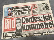Bildzeitung BILD 13.09.1988 * Das besondere Geschenk zum 30. 31. 32. Geburtstag