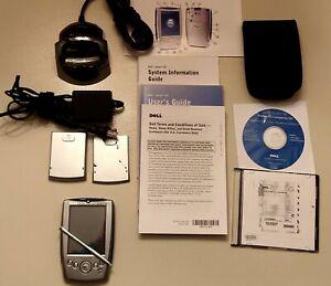 Dell Axim X5 Pocket PC Compete Bundle, Cradle, Case Includes Software/User Guide