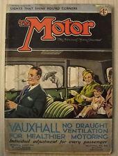 "November Motor Cars, Pre-1960 Magazines"""