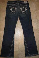 True Religion Rainbow Joey Twist Denim Jeans Size 29 x 32 Womens