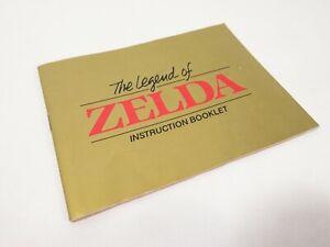 VTG Nintendo LEGEND OF ZELDA MANUAL Instruction BOOKLET ONLY no game NES; NICE!!