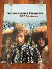 Jimi Hendrix Experience Bbc Sessions Limited Edition #560 Promo Poster