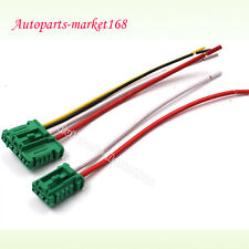 2PCS (1set)For Citroen Peugeot Renault Heater Blower Resistor Connector/Wire NEW
