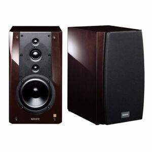 New SONY SS-NA5ESpe 2-way Bookshelf Speakers (Pair) Hi-Res Home Audio from Japan