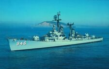 Uss Edson Dd-946 postcard Us Navy Ship Forrest Sherman-class Destroyer