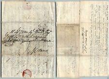 PREFILATELICA - MIL (49) in ottagono - Lettera Cremona->Milano 30.11.1760