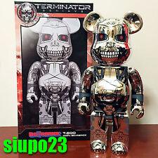 Medicom 400% Bearbrick ~ Terminator Genisys T-800 Be@rbrick