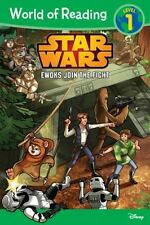 World of Reading Star Wars Ewoks Join the Fight by Disney Book [Paperback] NEW