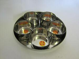 Set of 11 Pcs  Stainless Steel serving pickle / chutney / curry/ Relish Dish