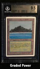 BGS Unlimited Tropical Island 9.5 (8694) QUAD Magic Beckett Graded MTG