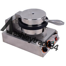Commercial Electric Nonstick Ice Cream Waffle Cone Baker Maker Machine