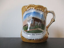 Circa 1915 Souvenir Mug Saint Josephs Church School Paterson New Jersey #BCB