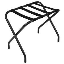 Registry Black Metal Luggage Rack - Box of 6- (26 x 21 x 15.75 in)