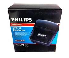 New Philips VHS-C (compact vhs tape) Rewinder Prolong Camcorder Auto Shut off