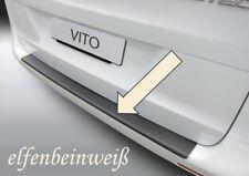 RGM Ladekantenschutz Taxi-Gelb elfenbeinweiß Mercedes V-Klasse W447 ab Bj. 2014-