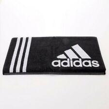 Adidas Sports Black Towel Tennis Gym Swim Yoga Beach Pool Adidas Logo 100/50 CM