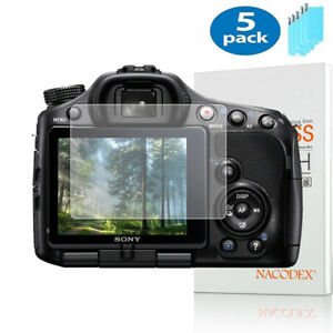 5X NX For Sony Alpha SLT A33 / A35 / A55 Camera Tempered Glass Screen Protector