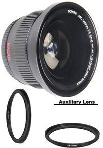 Bower 0.42x Wide Angle Fisheye Lens For Panasonic Lumix DC-G95