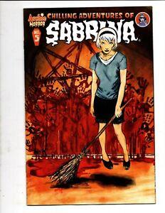 CHILLING ADVENTURES of SABRINA # 5 ARCHIE HORROR COMICS 2016 ROBERT HACK ART