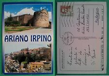 Ariano Irpino - Castello Normanno e panorama 2002