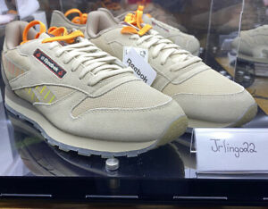 REEBOK HOT ONES CLASSIC LEATHER SHOES MEDIUM SIZE 9 H68850 DEADSTOCK