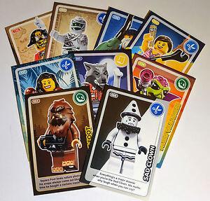 LEGO Trading Cards 1-140 Sainsbury ****(buy any cards!)****