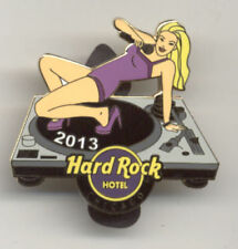 Hard Rock Cafe Chicago Hotel Microphone Girl 2013 Pin