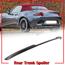 2018 For Mazda Miata MX-5 ND 4th 2DR Carbon Fiber Performance Trunk Spoiler GX