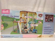 Barbie Happy Family Neighborhood Sounds Like Home Smart House NIB