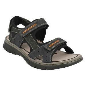 RIEKER 26757 MENS OPEN TOE WALKING CASUAL SPORTS HOOK & LOOP SUMMER SANDALS SIZE