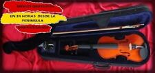 violin kobrat 1/8, 1/4, 1/2, 3/4 o 4/4 nuevo a estrenar,con estuche, arco,resina