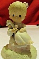 "precious moments ""God Is Love"" figurine 1980"