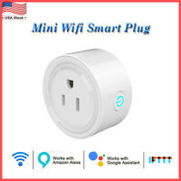 WiFi Smart Plug Socket Outlet APP Remote Voice Control Timing Google Home Alexa