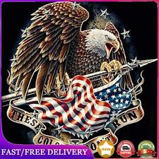 5D DIY Full Drill Diamond Painting Fly Eagle Cross Stitch Embroidery (z538