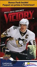 (5) 2011/12 Upper Deck Victory Hockey Factory Sealed Retail Box- Hot !