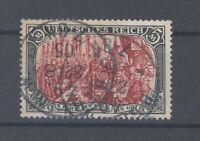 Dt. Reich Mi.Nr. 81 Aa, 5 Mark Freimarke 1902 gestempelt, geprüft BPP (34050)
