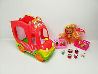 SHOPKINS SMOOTHIE JUICE TRUCK VEHICLE PLUS DOLL AND SHOPKINS