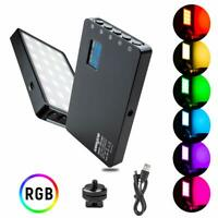 VILTROX 8W RGB LED Video Light Portable LED camera Light 2500-8500K Full Color