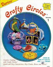 Crafty Circle Vol 1 Darice 30+ Projects in Plastic Canvas Key Chains Boxes & Mor