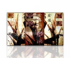 Wandbild - Paul Sinus Buddha Feng Shui Spirit braun beige Relax - 130x70cm