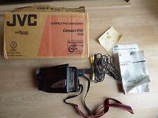 JVC COMPACT VHS CAMCORDER Nastro C GR-FX11EK 55 Digital HYPER Zoom Registratore Videocamera