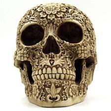 Human Skull Head Cluster Flower Skeleton Horror Halloween Table Decoration 2018